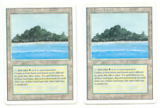 MTG Tropical Island / Revised / NM to LP TWO LEFT