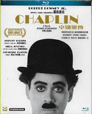 Chaplin Blu Ray 1992 Anthony Hopkins Robert Downey Jr. Milla Jovovich NEW