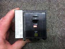 New Square D Qo3201021 3 Pole 20 Amp 240 Volt 120/208/240V Shunt Trip Qo320-1021