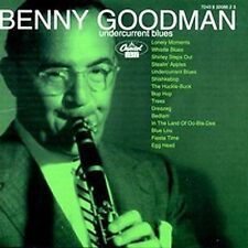 Undercurrent Blues [Capitol] by Benny Goodman (CD, Aug-1995, Blue Note (Label))