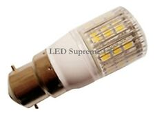 B22 24 Smd Led 380lm 3,8 W Bulbo Blanco Con Cover ~ 50w