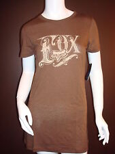 Fox Racing Fox Girl Throwback s/s Tee Shirt Mocha, Large