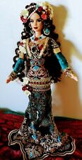 The Gypsy Queen  - OOAK Barbie doll beautiful curly hair