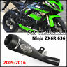 For Kawasaki Ninja ZX6R 636 2009-2016 Slip-on Connect Pipe Exhaust Muffler Pipe