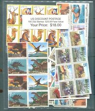 US. Discount Postage 100 25¢ Stamps Face Value $25.00 Selling For $18.00