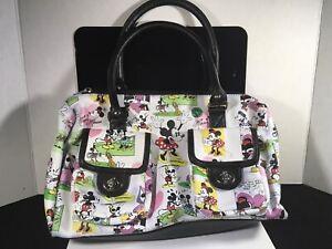 Official Disney Parks Minnie Mickey Mouse Cartoon Handbag bag purse Satchel