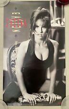 "Sheena Easton - What Comes Naturally - 1991 Promo Poster - 18x30"" Usa New"