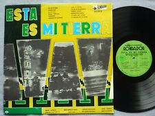 Various Latin Esta Es Mi Tierra LP Rondador 550.003 1970s Import Ecuador VG+