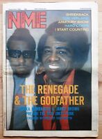 NME 1 SEP 1984 JAMES BROWN AFRIKA BAMBAATAA TOM VERLAINE SHRIEKBACK HARD CORPS