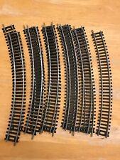 Lot 11 HO Scale Train Tracks Silver Colour Curve Track