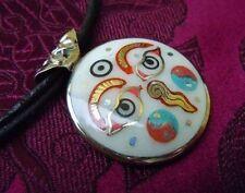 Schönes SILBER Buddha Eye Amulett aus NEPAL MASSIV!!