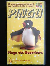 PINGU ~ PINGU THE SUPER HERO ~ RARE VHS VIDEO