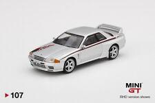 Mini Gt Nissan Gt-R R32 Nismo S-Tune Silver Rhd Mgt00107 1/64