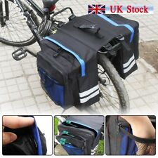 Outdoor Bike Bicycle Cycling Rear Seat Double Panniers Bag Trunk Rack Pack