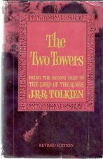 THE TWO TOWERS. Tolkien. Second Edition, c1966. Houghton Mifflin