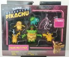 "Pokemon ""Detective Pikacho"" The Movie 6 Figures Set Nintendo 2019"