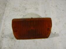 87-95 Jeep Wrangler front turn signal amber lens light left right 56001378
