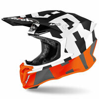 Airoh Off Road Twist 2.0 Moto Motocross MX Dirt Bike Helmet Frame Matt Orange