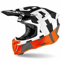 Airoh Off Road Twist 2.0 Moto Motorcycle Motorbike Helmet Frame Matt Orange