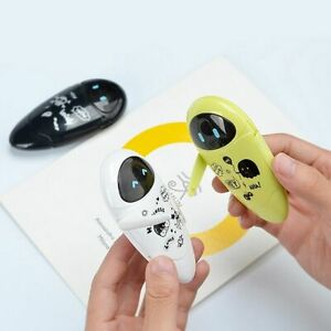 Correction Cartoon Tape Robots School Stationery Office Korean Study Supplies