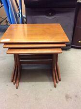 Wood Veneer Vintage/Retro Nested Tables