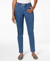Charter Club Bristol Skinny Side-Stripe Ankle Jeans