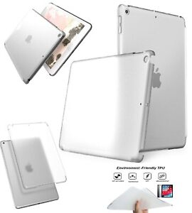"""For Apple iPad Air Air 2 5th Gen 6th Gen Pro 9.7"""" Clear Silicone Back Case Cover"""