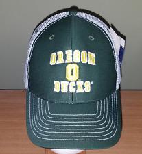 Oregon Ducks White and Green Adjustable NCAA Hat New