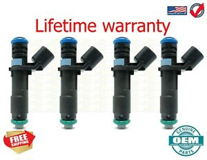 2013-16 dodge fiat jeep dart 500x  2.0 2.4 set 4 Fuel Injectors Mopar 04627890AA