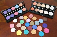 5 well empty magnetic palette w/mirror-YOU PICK COLORS-Mineral Mica Eye Shadows