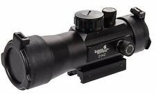 Lancer Tactical Red Green Dot 2x42mm Metal 2X  Scope Sight CA-443B 20mm rail