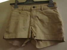 Beige Stretch Cotton H&M Hot Pants / Shorts in Size 6