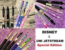 Special Disney Uniball Jetstream Pen Mickey Minnie Mouse Pooh Ariel Cute Edition