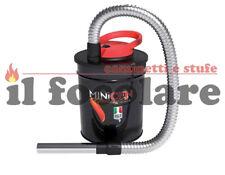Aspiracenere  Ribitech MINICEN 800W 10l bidone aspiratore cenere stufa a pellet