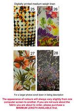 Floral Apparel-Everyday Clothing 100% Linen Craft Fabrics