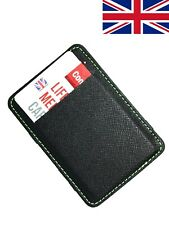 Leather Bifold Magic Money Clip Slim Mens Wallet Credit Card Holder Purse Case