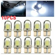 10x T10 194 168 W5W CREE 8SMD LED CANBUS Silica Bright White License Light Bulb