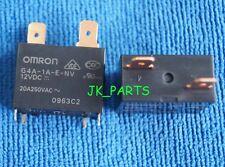 1pcs ORIGINAL 12V G4A-1A-E-NV-12VDC Omron Relay 4Pins