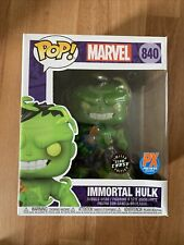 Funko Pop The Immortal Hulk chase 840 Exclusive Sticker (Lot Of 2 Chase & PX Ed)