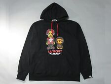 21036 bape baby milo x Lil Yachty pullover hoody black M