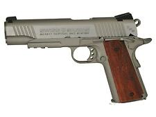 Swiss Arms SA 1911 TRS CO2 BB Pistol Brown Grips 18rd BB Mag - 0.177 cal