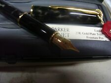Parker, Sonnet Fountain Pen, Lacque Moonbeam w/Gold Plated Trim ITEM NO.16