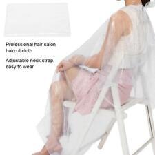 100pcs tablier de coiffeur jetable coupe cheveux cape teinture salon de coiffure