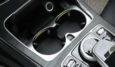 Water Cup Holder Cover Trim for Mercedes Benz C E GLC Class W205 W213 15-17LHD