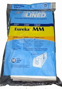 Eureka MM Micro-lined Mighty Mite Sanitaire Allergen Filtration Bags (10)
