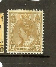 NETHERLANDS (P1908B) 15C  SC69  MOG