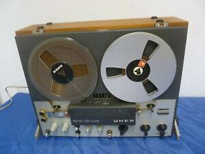 UHER ROYAL DE Luxe - Tonbandgerät mit Bändern