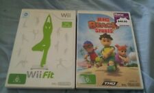 Bulk bundle lot 2 wii games BIG BEACH SPORTS AND WII FIT BOTH WITH MANUALS