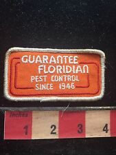 Vtg Florida Bug Patch - GUARANTEE FLORIDIAN PEST CONTROL SINCE 1946 73WX