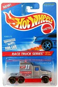 1996 Hot Wheels #381 Race Truck #2 Ford LTL